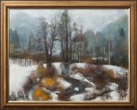 Potoky v zimě